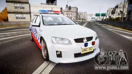 Holden Commodore SS Highway Patrol [ELS] for GTA 4