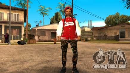 Army Girl for GTA San Andreas