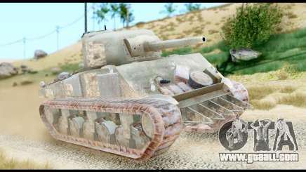 M4 Sherman 75mm Gun Urban for GTA San Andreas