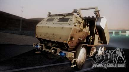 M142 HIMARS Desert Camo for GTA San Andreas