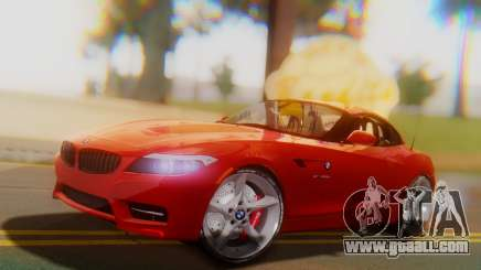 BMW Z4 sDrive35is 2011 2 Extras for GTA San Andreas