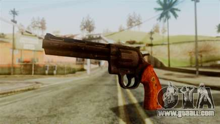 Colt Revolver from Silent Hill Downpour v2 for GTA San Andreas