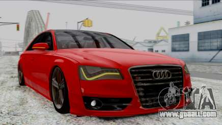 Audi A8 Turkish Edition for GTA San Andreas