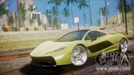 GTA 5 Progen T20 for GTA San Andreas