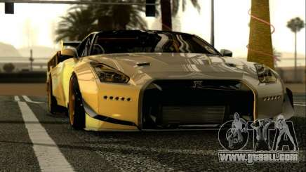 Nissan GTR-R35 Rocket Bunny for GTA San Andreas