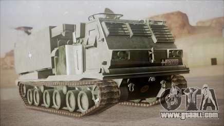 Hellenic Army M270 MLRS for GTA San Andreas