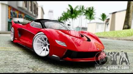 Grotti Turismo RXX-K v2.0 for GTA San Andreas