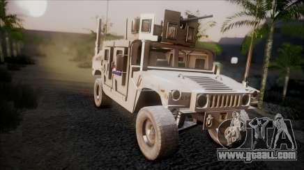 HMMWV Croatian Army ISAF Contigent for GTA San Andreas