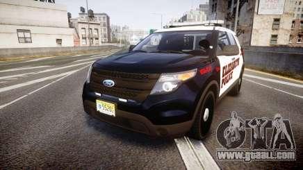 Ford Explorer 2011 Elizabeth Police [ELS] for GTA 4