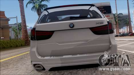 BMW X5 F15 BUFG Edition for GTA San Andreas right view