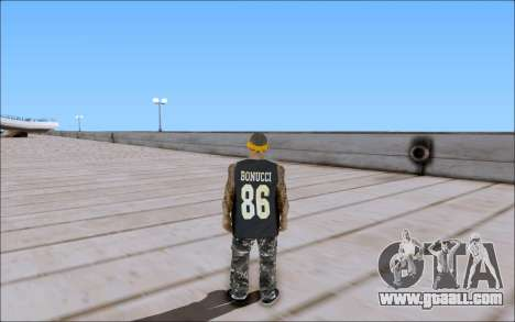 Los Santos Vagos Skin Pack for GTA San Andreas forth screenshot