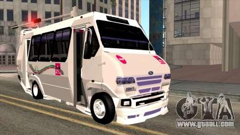 Ford Prisma IV Microbus for GTA San Andreas