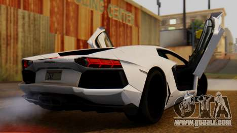 Lamborghini Aventador LP 700-4 2012 for GTA San Andreas left view