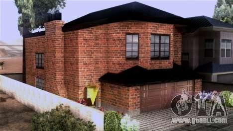 CJs New Brick House for GTA San Andreas second screenshot