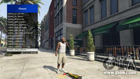 GTA 5 Scenario Menu 1.1 tenth screenshot