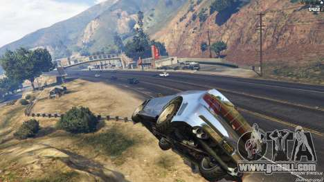 GTA 5 Spontaneous Chaos 0.08 second screenshot