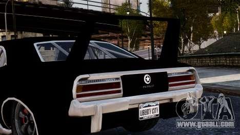Patriot Vegas G20 Firebomb for GTA 4 right view