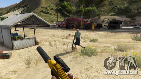 GTA 5 The uprising of citizens (Chaos Mode) 0.6.1