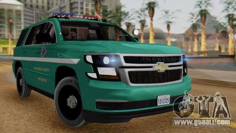 SACFR 2015 Tahoe v1 for GTA San Andreas