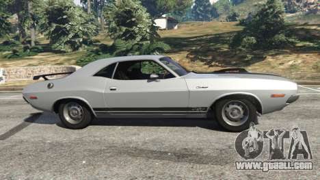 GTA 5 Dodge Challenger RT 440 1970 v0.8 [Beta] left side view