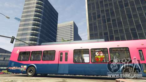 GTA 5 Downtown Anime Mod 1.3 seventh screenshot