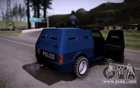 The Armored Car. for GTA San Andreas back view