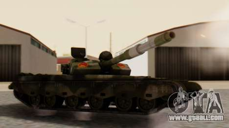 Type 99 for GTA San Andreas left view