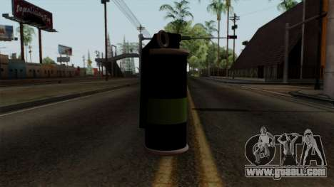 Original HD Tear Gas for GTA San Andreas second screenshot