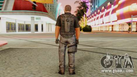 [GTA5] BlackOps2 Army Skin Black for GTA San Andreas third screenshot