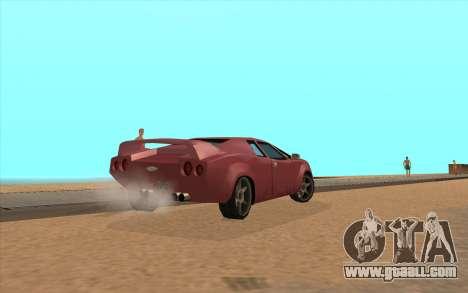 GTA VC Infernus SA Style for GTA San Andreas right view