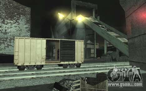 Automotive junkyard v0.1 for GTA San Andreas third screenshot