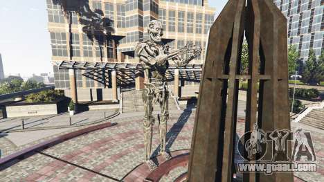 GTA 5 Statue T-800 second screenshot