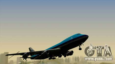 Boeing 747-200B KLM for GTA San Andreas right view