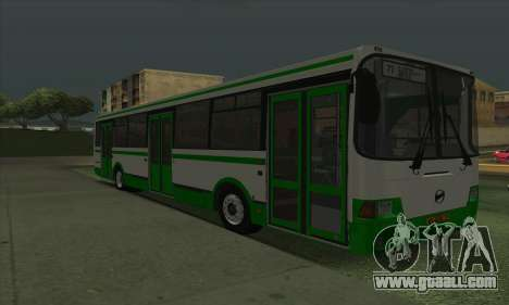 LiAZ 5293.00 for GTA San Andreas left view