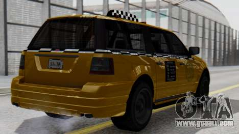 Vapid Landstalker Taxi SR 4 Style for GTA San Andreas left view