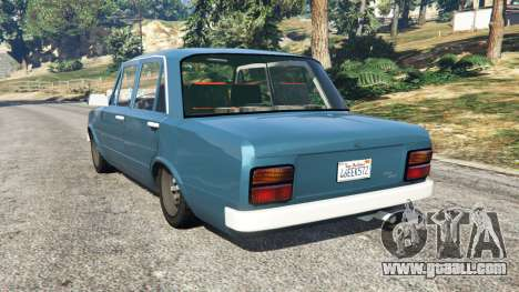 GTA 5 Tofas Serce [Beta] rear left side view