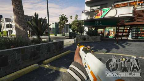 GTA 5 AK47 - Asiimov Edition sixth screenshot