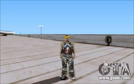 Los Santos Vagos Skin Pack for GTA San Andreas fifth screenshot