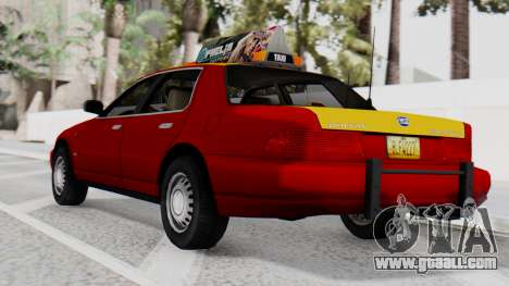 Dolton Broadwing Taxi for GTA San Andreas left view