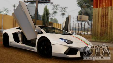 Lamborghini Aventador LP 700-4 2012 for GTA San Andreas