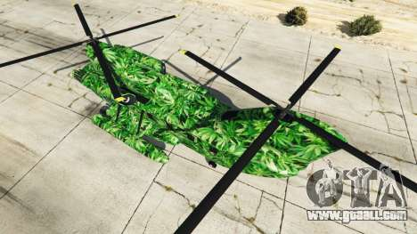 GTA 5 Western Company Cargobob Cannabis third screenshot