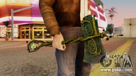 Nature Axe for GTA San Andreas third screenshot