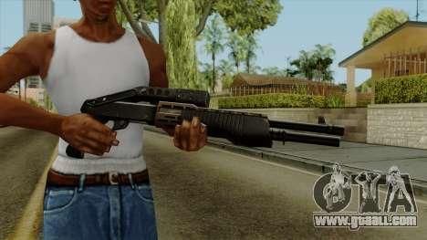 Original HD Shotgun for GTA San Andreas third screenshot