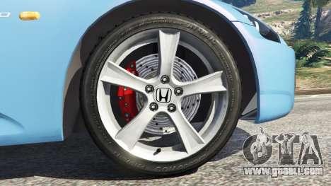 GTA 5 Honda S2000 rear right side view