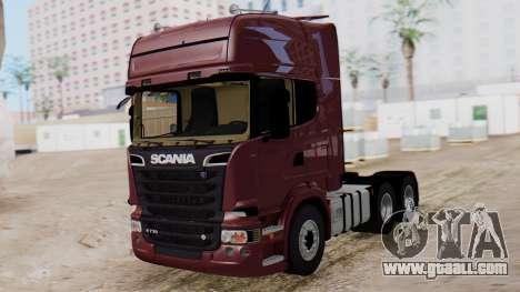 Scania R for GTA San Andreas