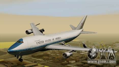 Boeing 747 E-4B for GTA San Andreas