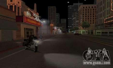 Lamppost Lights v3.0 for GTA San Andreas forth screenshot
