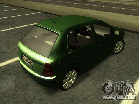 Skoda Fabia 2001 for GTA San Andreas right view