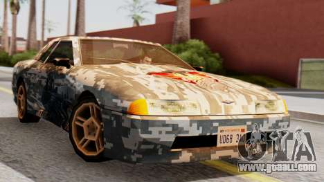 Elegy Contract Wars U.S.E.C Vinyl for GTA San Andreas