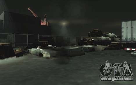 Automotive junkyard v0.1 for GTA San Andreas twelth screenshot
